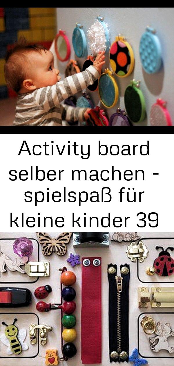 Basteln mit Kindern im Sommer - tolle Ideen, einfach umgesetzt - Activity Board Selber Machen - Water #activityboardselbermachen - bebek