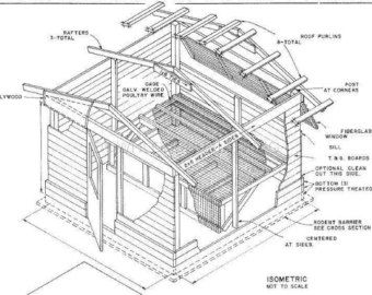 Items Similar To Saltbox Chicken Coops On Etsy Chicken Coop Blueprints Chicken Coop On Wheels 10x10 Shed Plans