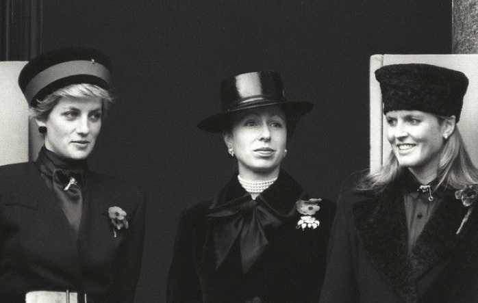 The Princess of Wales, The Princess Royal and The Duchess of York