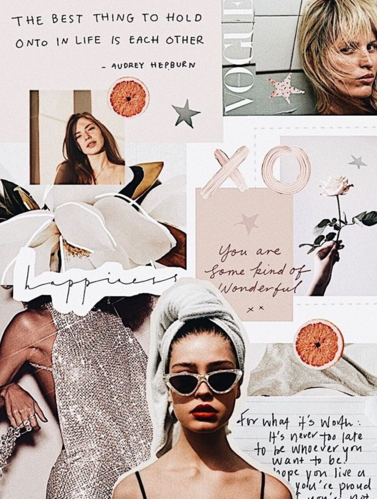 Image By Mimi Hage On Wallpaper Collage Design Aesthetic