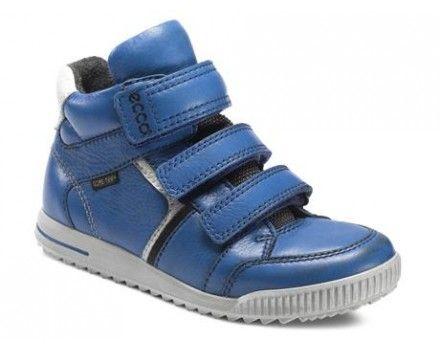 Ecco 734522 Christer Barmuda Blue/Moonless Rigtig god støvlette til de mindste med stød absorberende sål.