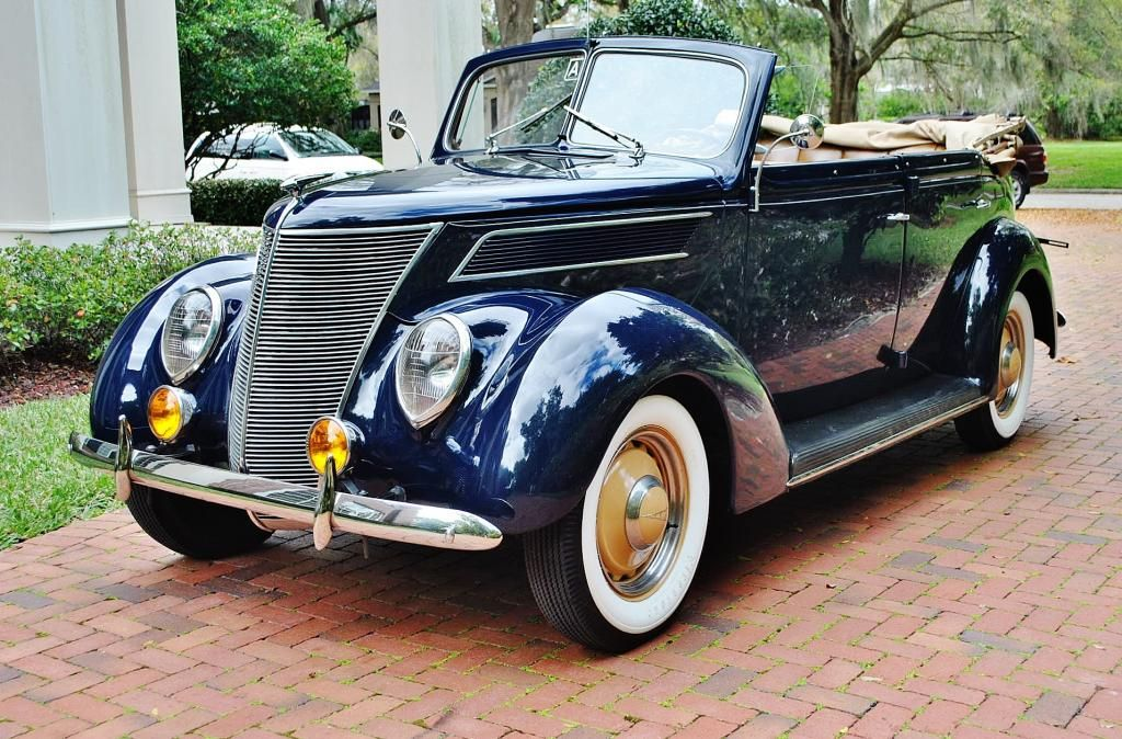 Pure Elegance With This Restored And Period Correct 1937 Ford Phaeton 4 Door Convertible Volkswagen Phaeton Classic Cars Volkswagen Touran