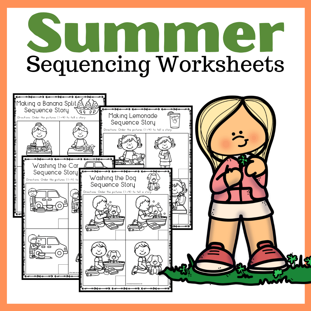 Free Sequencing Worksheets For Summer Learning In