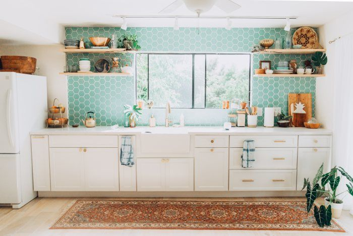 13 Perfect Ideas for Blue Kitchen Backsplashes | Hunker