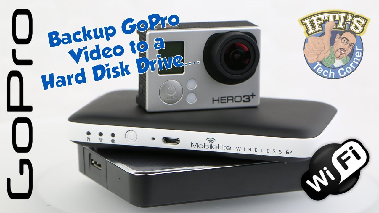 Transfer Gopro Video To An External Hard Drive With No Computer Guide Gopro Video External Hard Drive Gopro