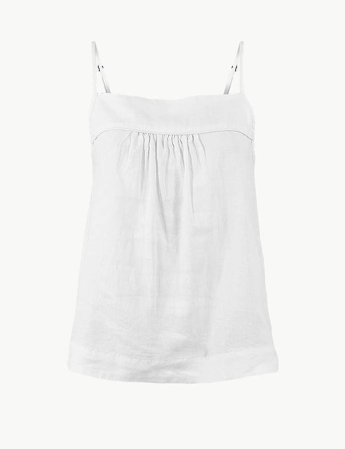 97a49e7ec4 Marks and Spencer Pure Linen Camisole Top in 2019 | Products ...