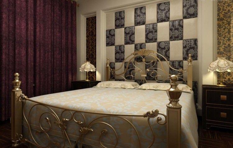 Wandgestaltung Schlafzimmer- 25 effektvolle Ideen #effektvolle - ideen fr schlafzimmer streichen
