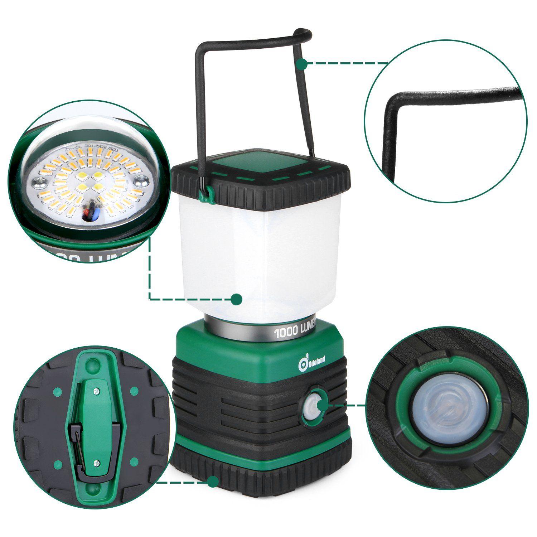 1000 Lumen Zoomable LED Flashlight /& 500 Lumen Lantern