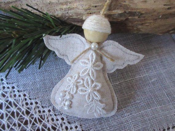 angel christmas ornament handmade angel tree by mydaisy2000 - Handmade Angels Christmas Decorations