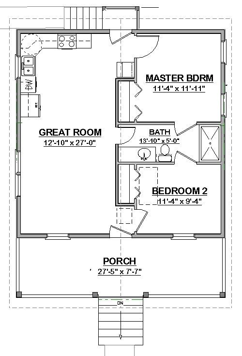 Free House Plan Perfect No Wasted Spaces See Laura Cottage Pdf Cottage Floor Plans Building Plans House House Floor Plans