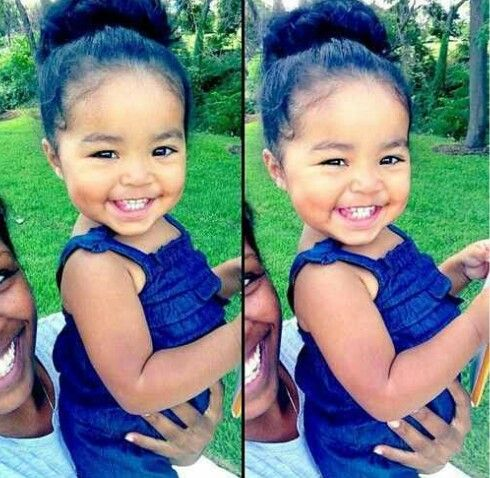 Gorgeous Mexican and Black baby and her Mommy | Adorable ...