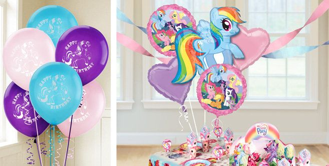 My Little Pony Balloons Party City Pony Party Supplies My