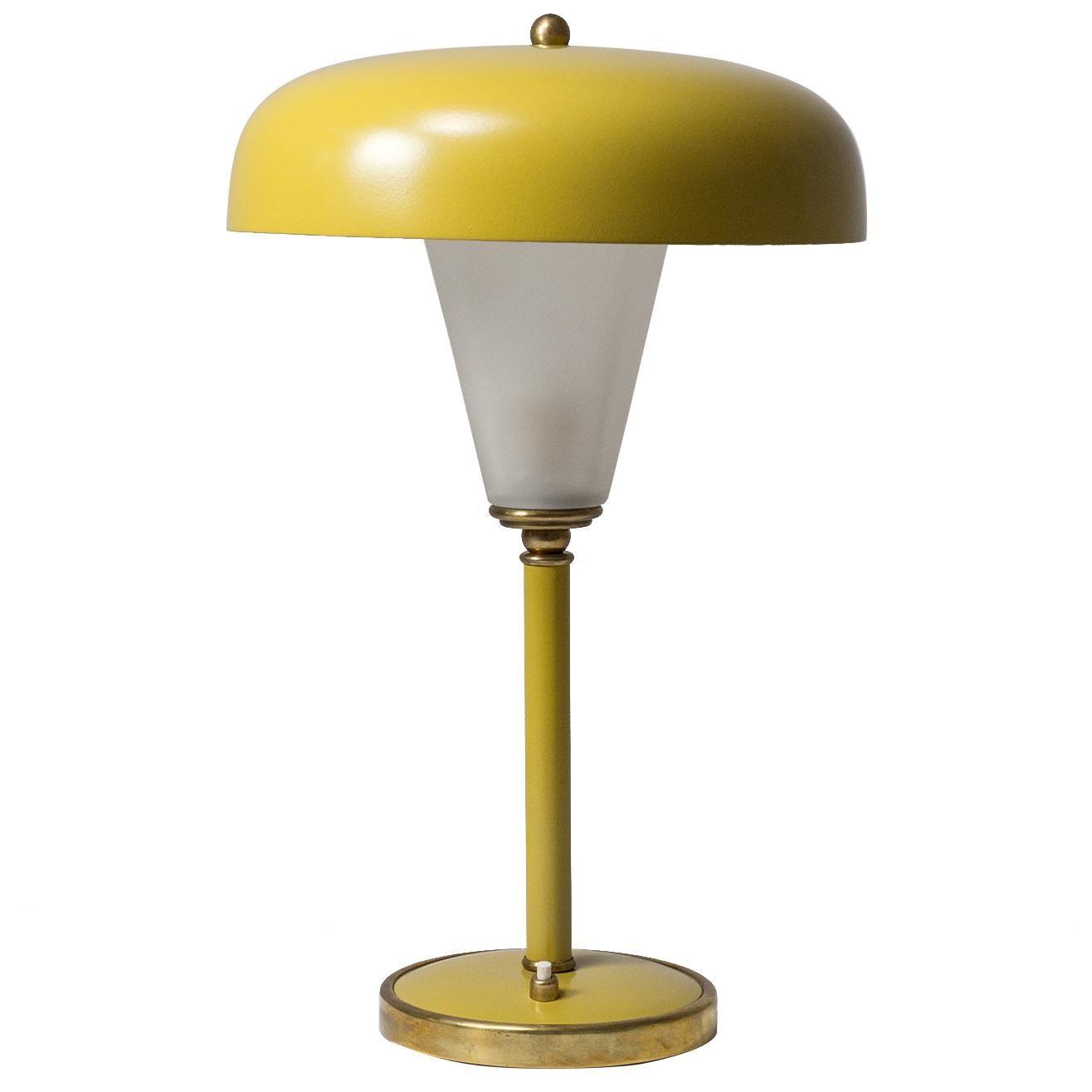 French Art Deco Lantern Table Lamp 1940s Art Deco Lanterns Lantern Table Lamp Glass Diffuser
