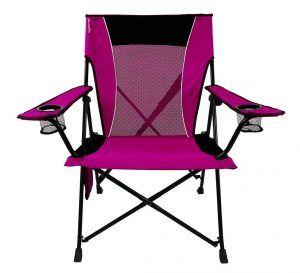 1. Kijaro Dual Lock Folding Camping Chair (Hanami Pink)