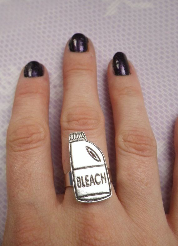 Bleach Bottle Ring One Size Fits All By Lotusfairy On Etsy