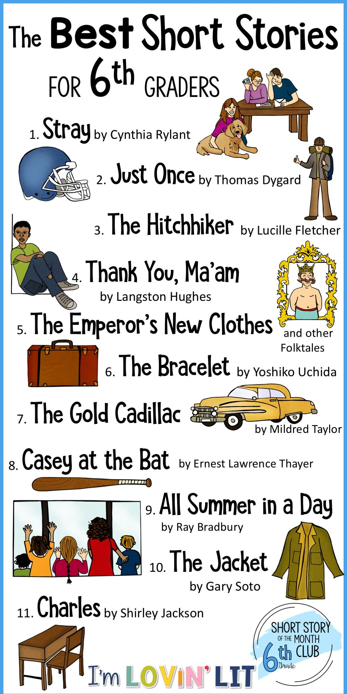 Short Story Units For Middle School Short Story Of The