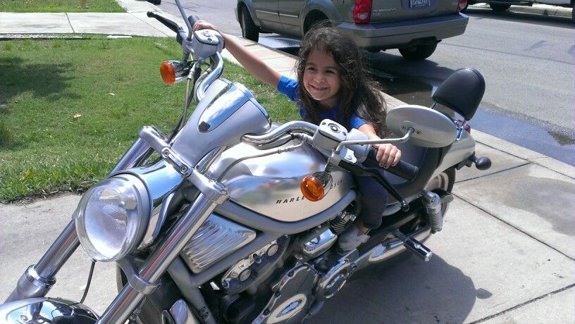 Harley baby!