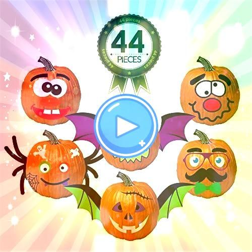 Outlet Pumpkin Decorating Kit Stickers  44 Piece Halloween Funny Foam Face Decora Carly and Adam want to help you get started with STEAM with this FREE STEAM Challenge In...