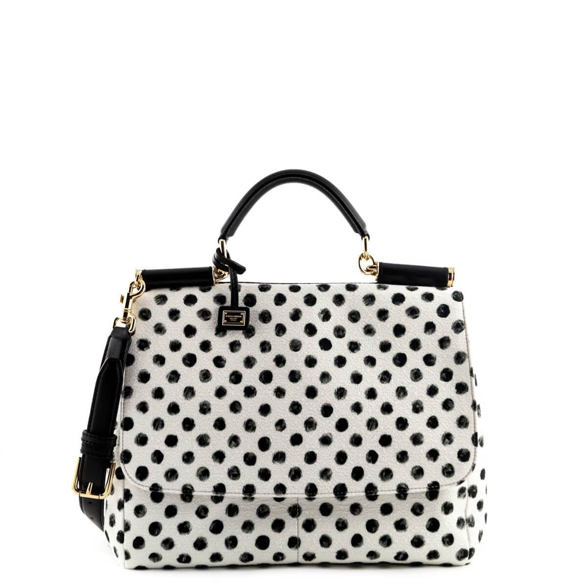 bac0324e46ae Dolce   Gabbana Polka Dot Miss Sicily Bag -  1125 CAD