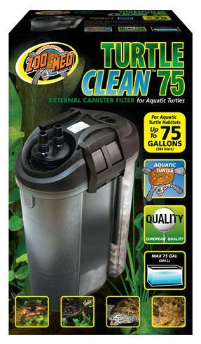 zoo med turtle clean™ 75 external canister filter | leo the turtle ...