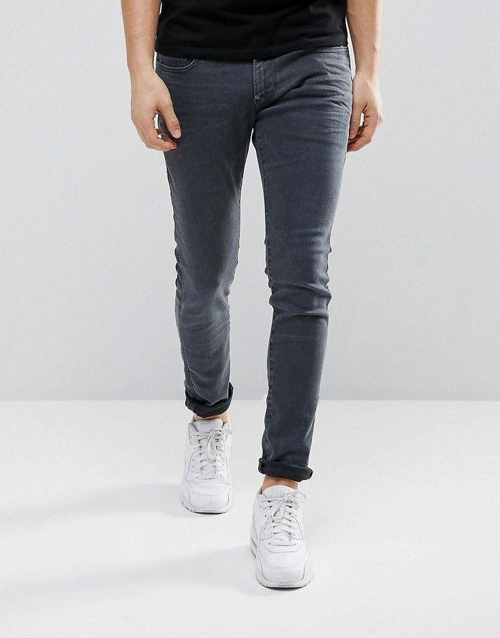 G Star G Star Revend Super Slim Jeans Overdye Blue Ropa