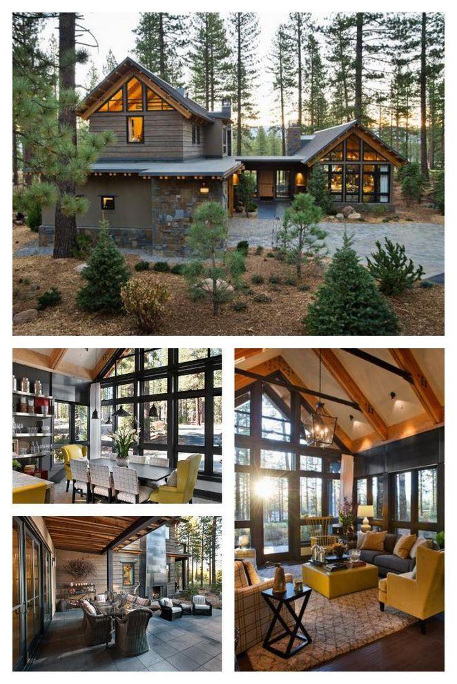 25 Buying Contemporary Mountain Home Dizzyhome Com House Design Hgtv Dream Home Rustic House