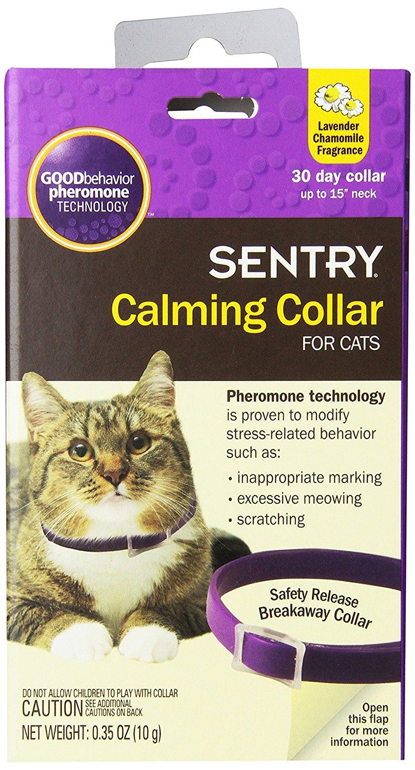 Sentry Calming Collar For Cats Check This Awesome Product By Going To The Link At The Image Pheromones Behavior Calm