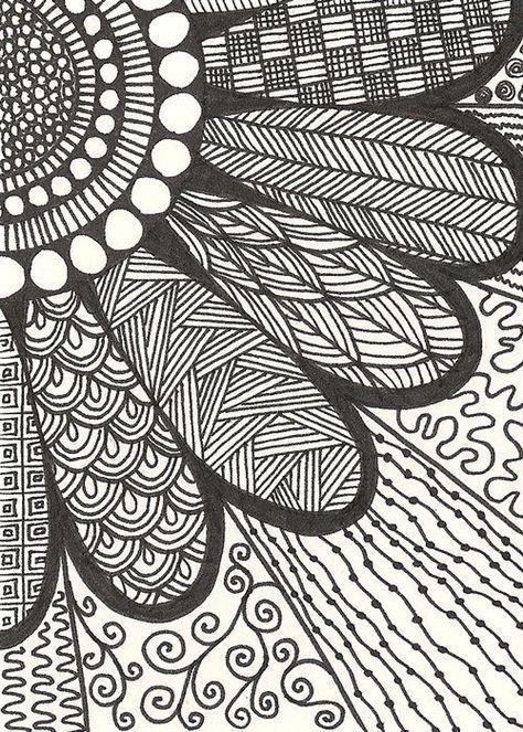Image result for Zentangle Pattern Gallery Zentangles in 2019