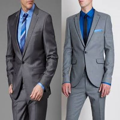ideas para mezclar traje color gris 638b42e4628