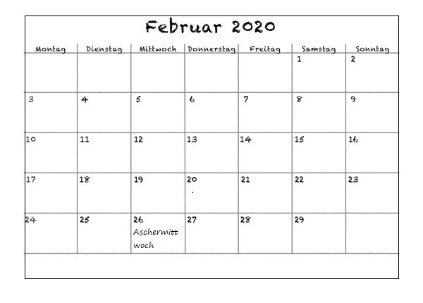 7. Februar 2020