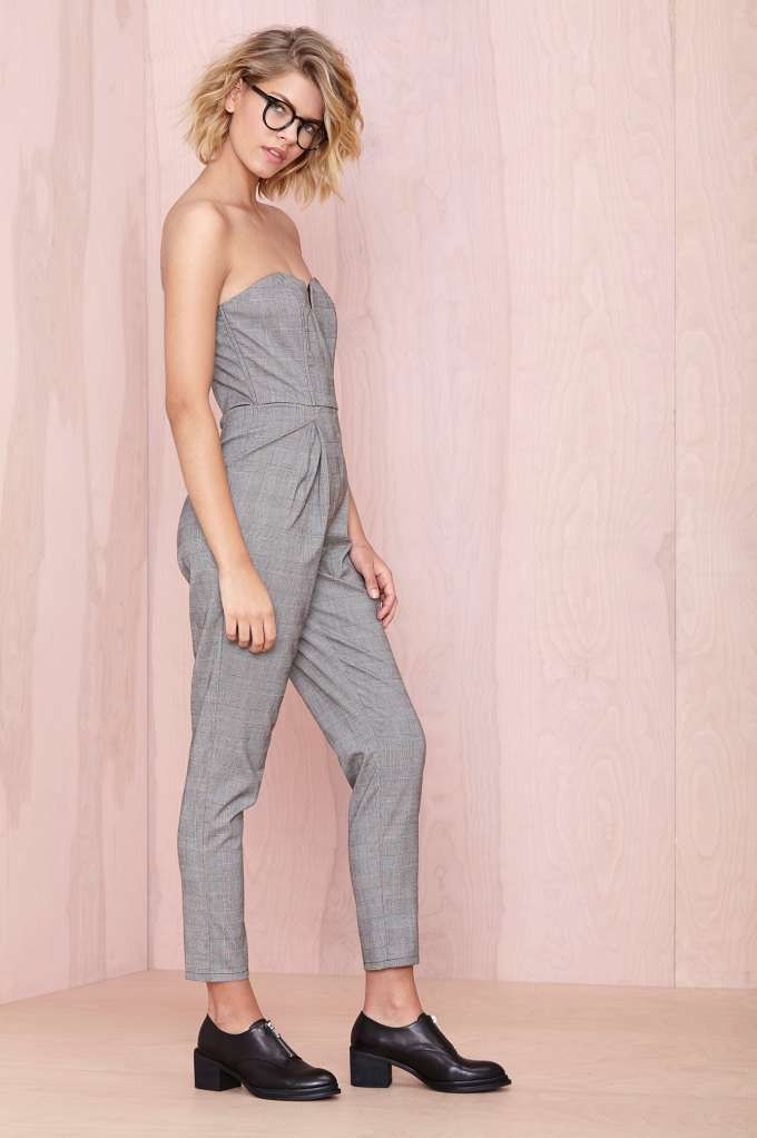 School Ties Jumpsuit   Shop What's New at Nasty Gal