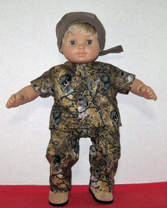 Bitty Baby Doll Clothes Duck Camouflage Set Boots 15 16 inch Camo American Girl Doll #boydollsincamo Bitty Baby American Girl or BOY  Duck Camouflage by Dakocreations, $34.99 #boydollsincamo Bitty Baby Doll Clothes Duck Camouflage Set Boots 15 16 inch Camo American Girl Doll #boydollsincamo Bitty Baby American Girl or BOY  Duck Camouflage by Dakocreations, $34.99 #boydollsincamo