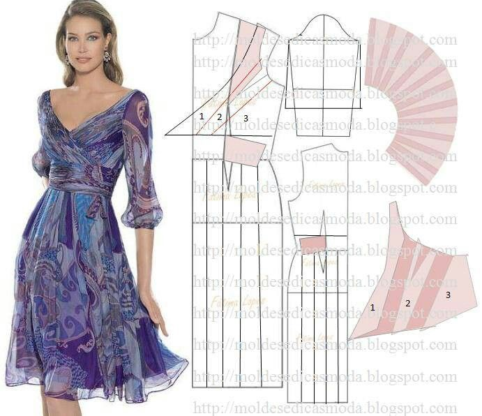 Sublime este vestido | patrones / costura | Pinterest