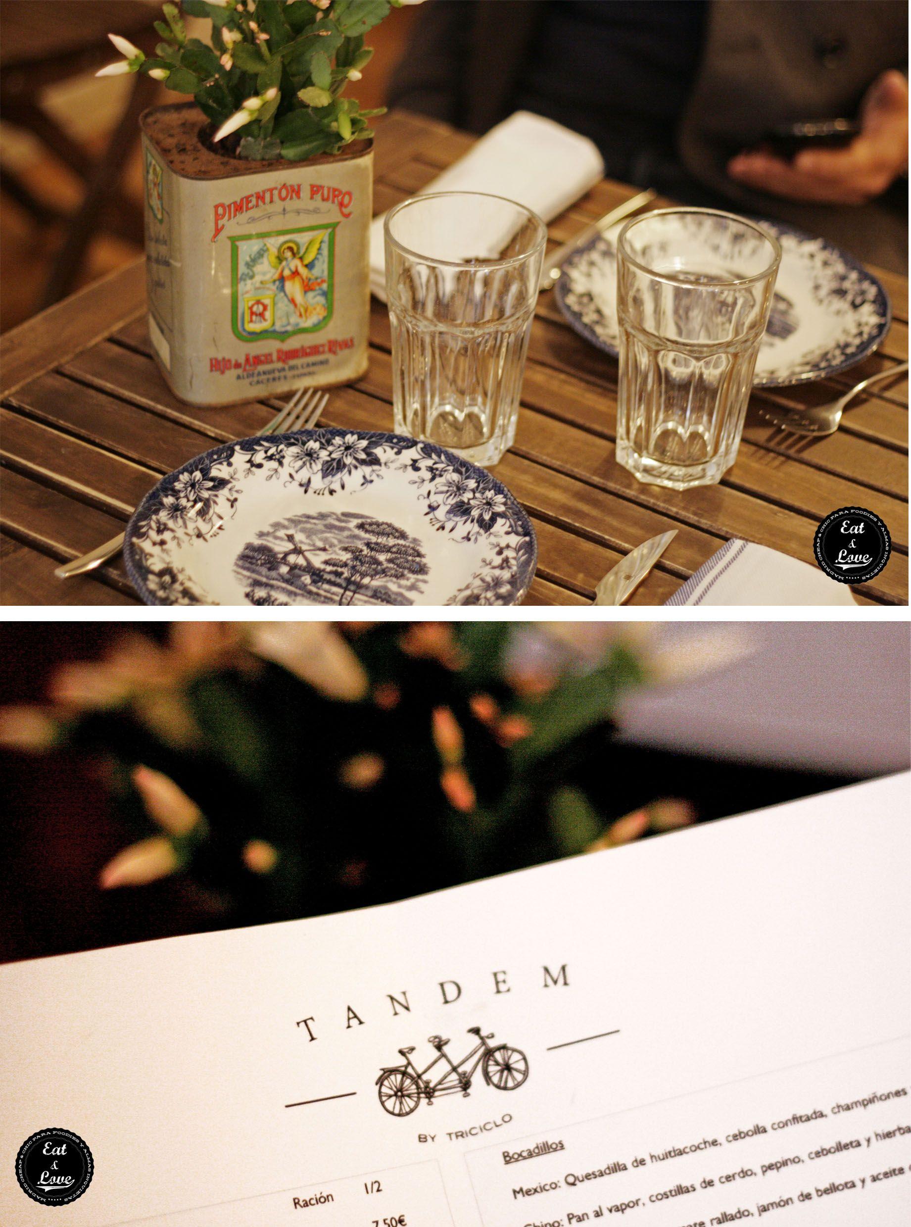 Restaurante Tandem by Triciclo - Madrid - Huertas