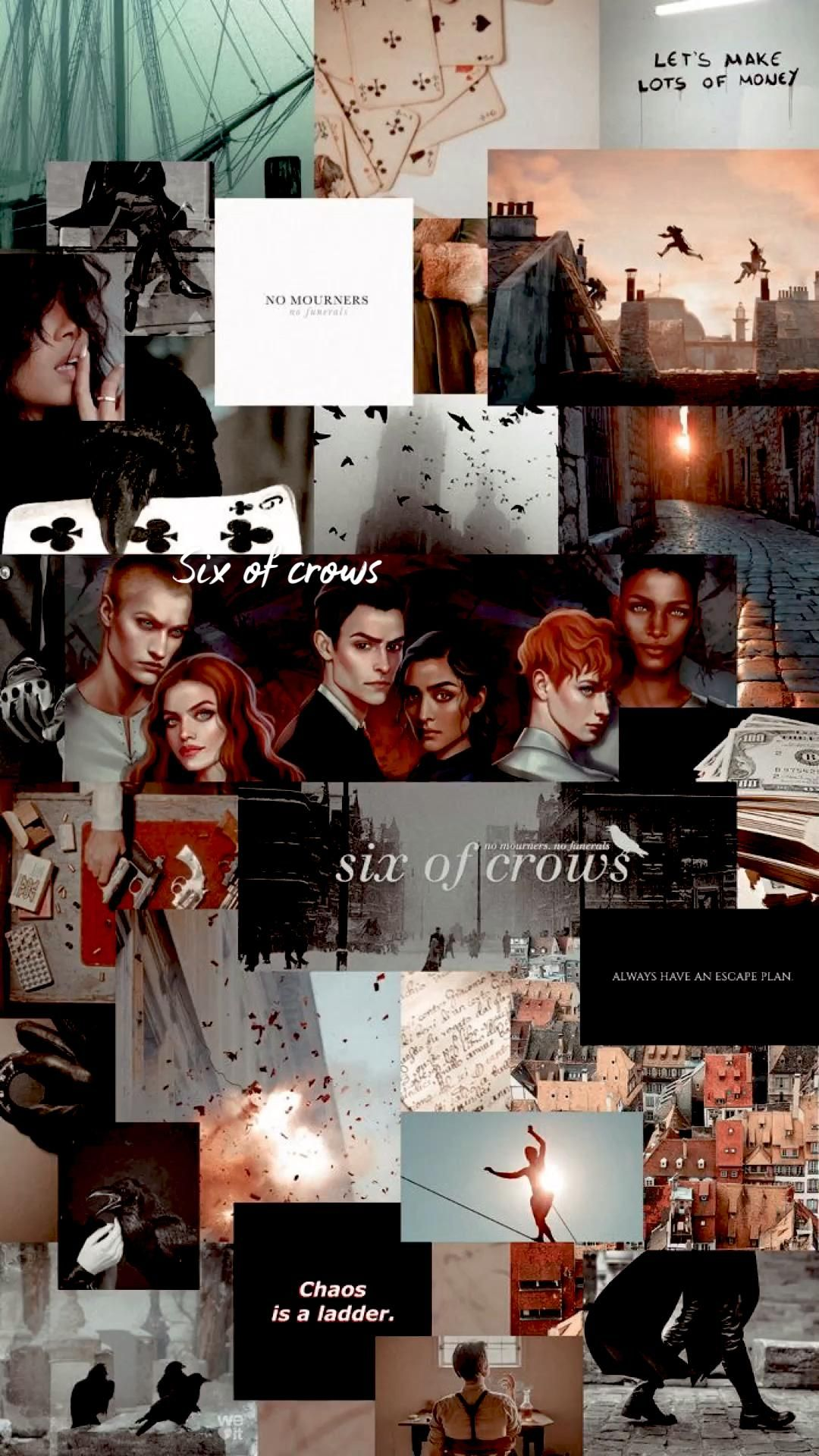 Six of crows/ Throne of Glass aesthetic