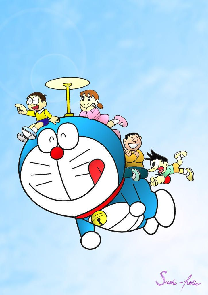 Doraemon by sushi-holic on DeviantArt
