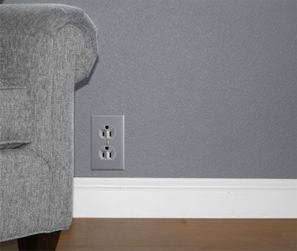 finishing touch gray outlets and