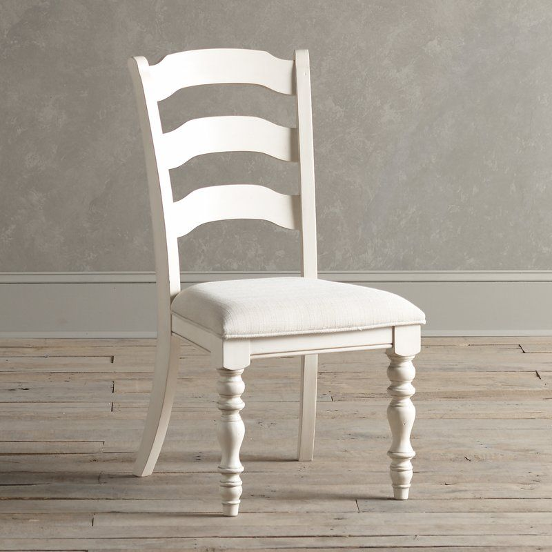 Dalton Upholstered Ladder Back Side Chair Dining Chairs