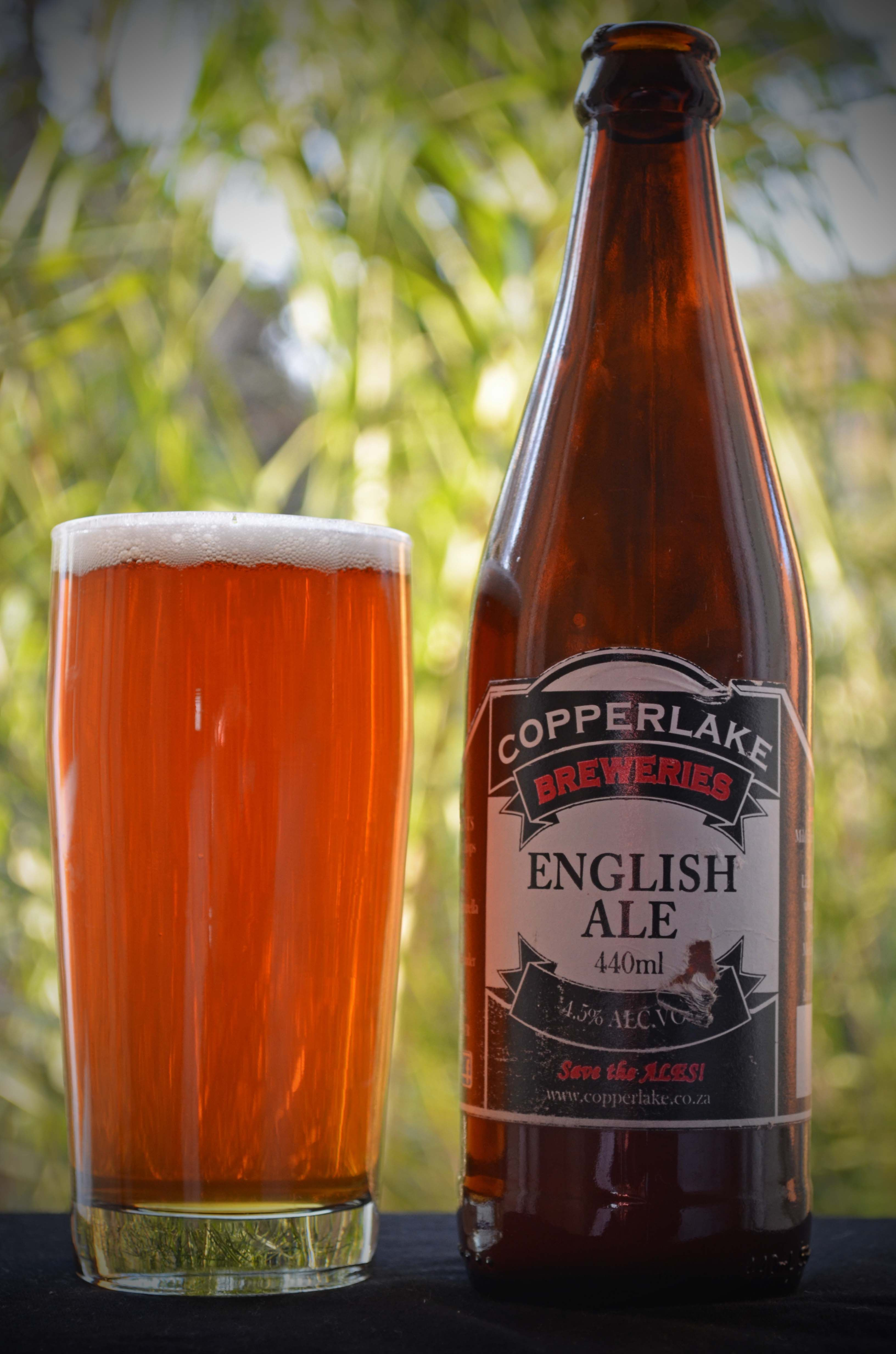 Copperlake Brewery English Ale Beer Bar Beer 101 Beer Bottle