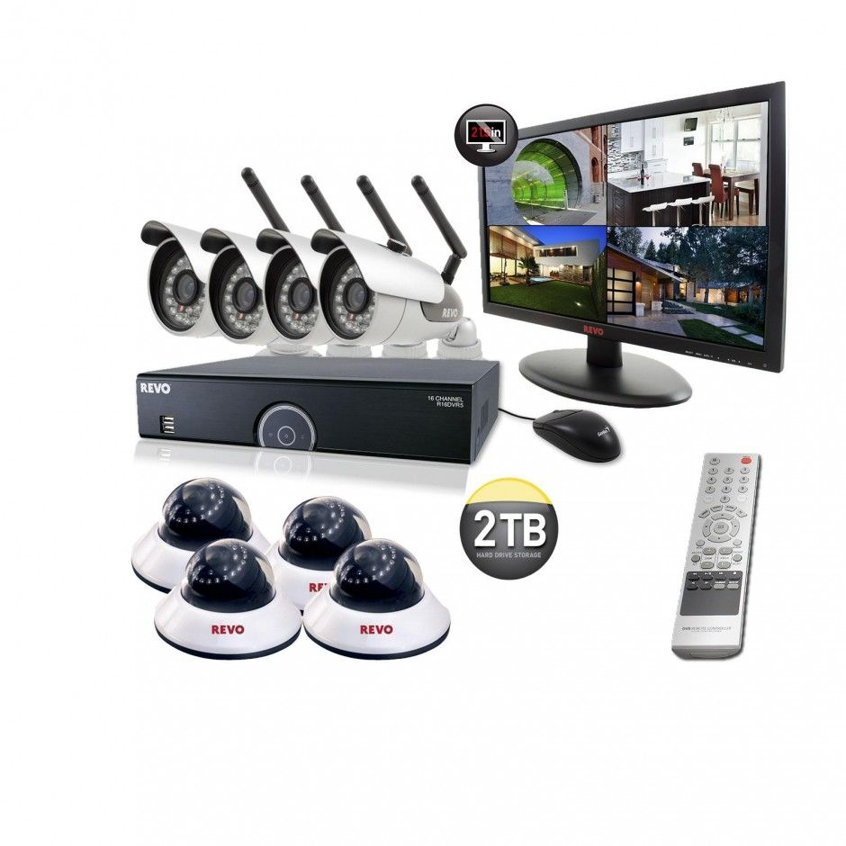 Architecture, Complete And Sophisticated Monitor Design With Amazing  Computer Cctv Home Security Systems Review Cheap
