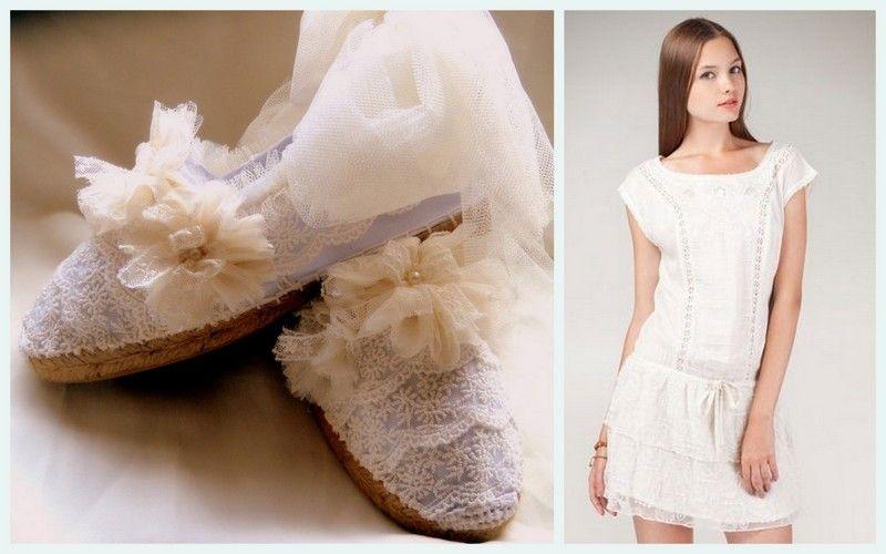 zapatillas descanso novias, calzado de descanso para novia, looks ...