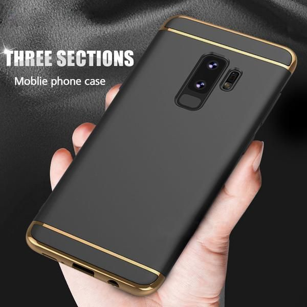 Luxury 3 In 1 Back Case For Samsung Galaxy S9 S9 Plus Samsung Galaxy Samsung Galaxy S9 Samsung