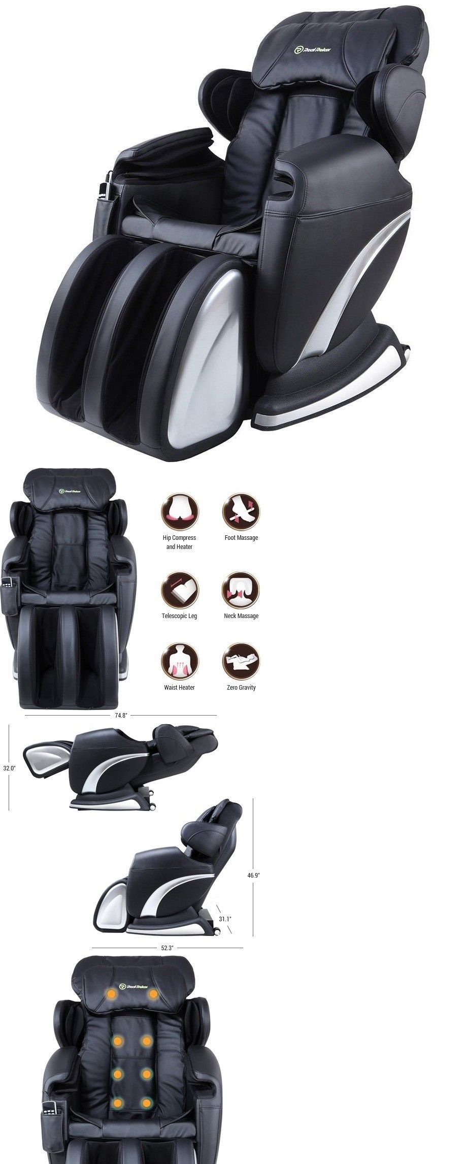 Electric Massage Chairs Deal Full Body Massage Chair 3Yr Warranty