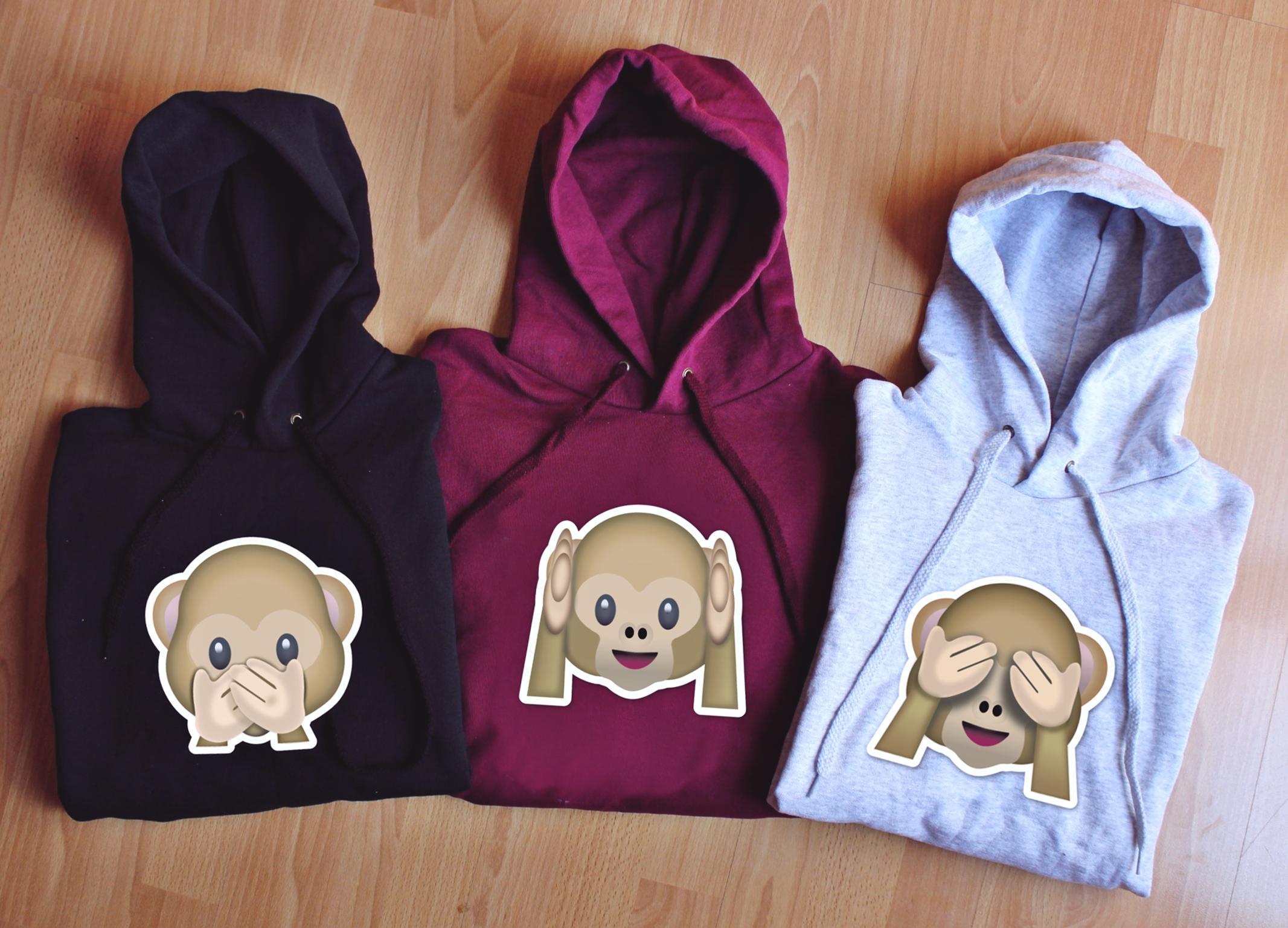 Bluza Z Kapturem Damska Best Friends Forever Monkey Dla Przyjaciolek Prezent Hoodies Sweaters Fashion