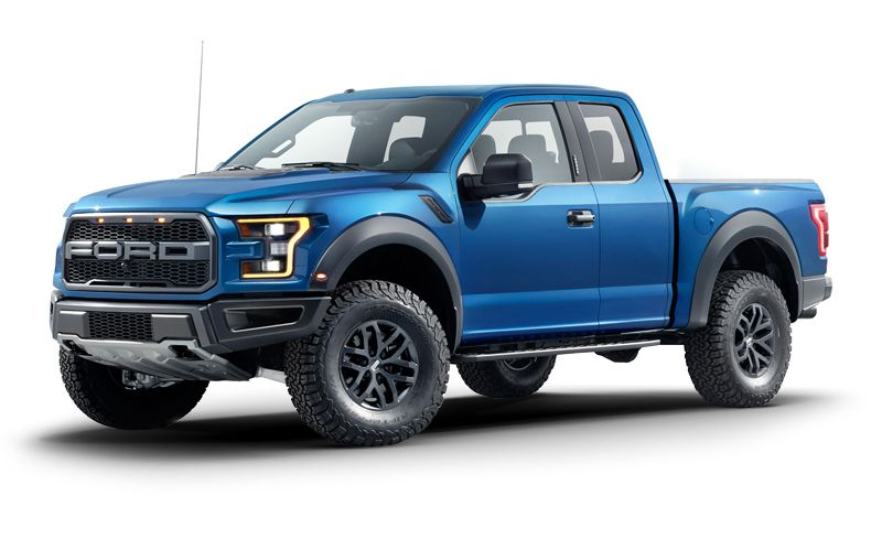 2017 ford f-150 raptor 500 hp, 10-speed auto transmission