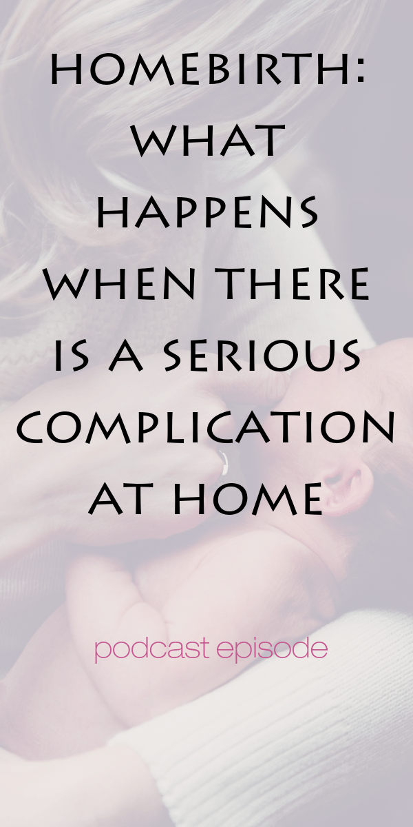 a home birth experience with complications  See how a midwife reacts