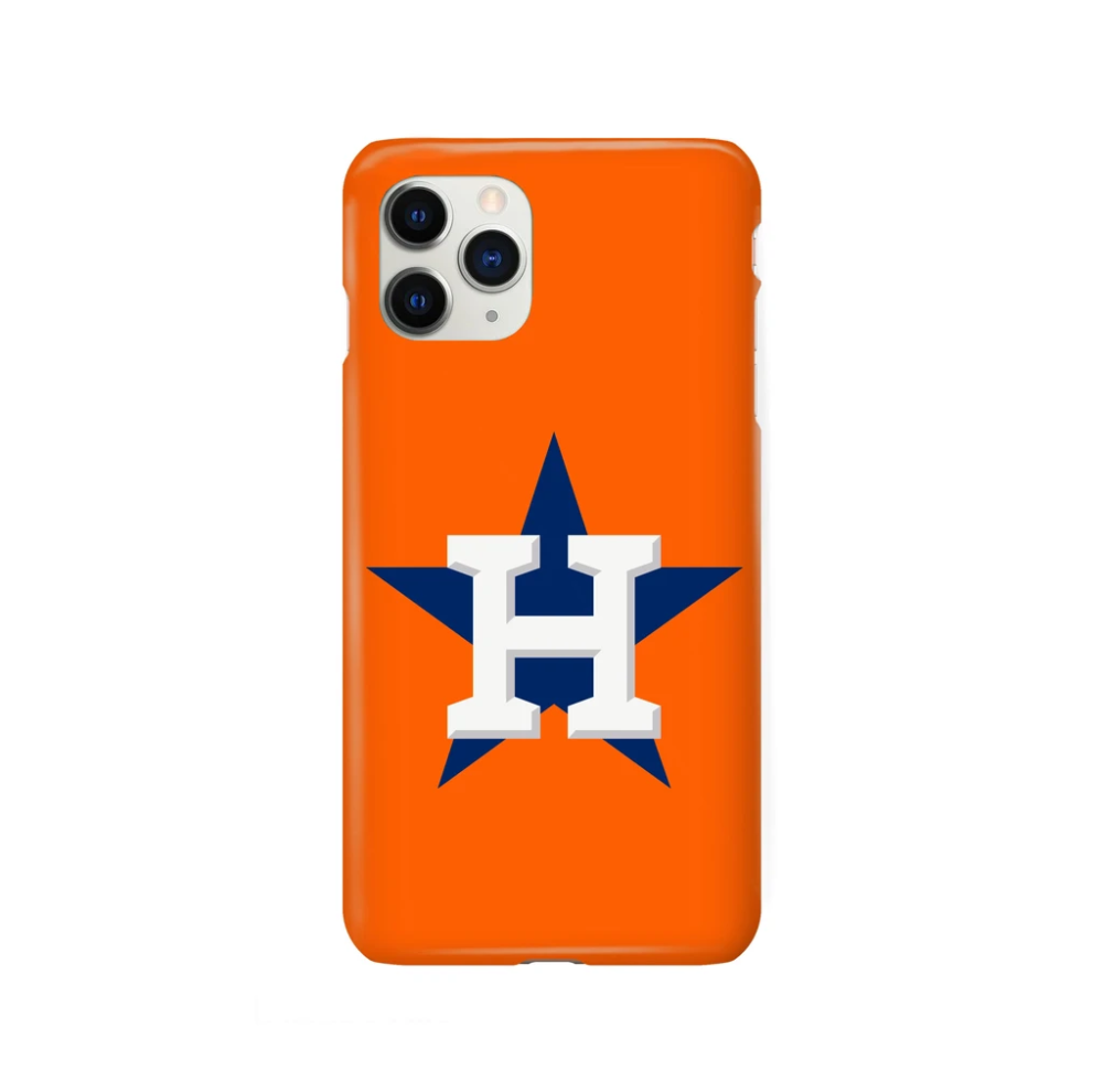Houston Astros Star Orange iPhone Snap or Tough Case