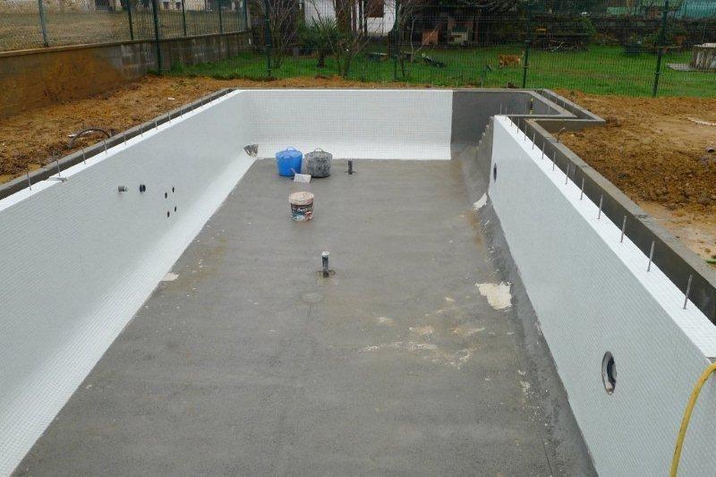 Para la colocaci n del gresite se emplear un cemento cola - Cemento para piscinas ...