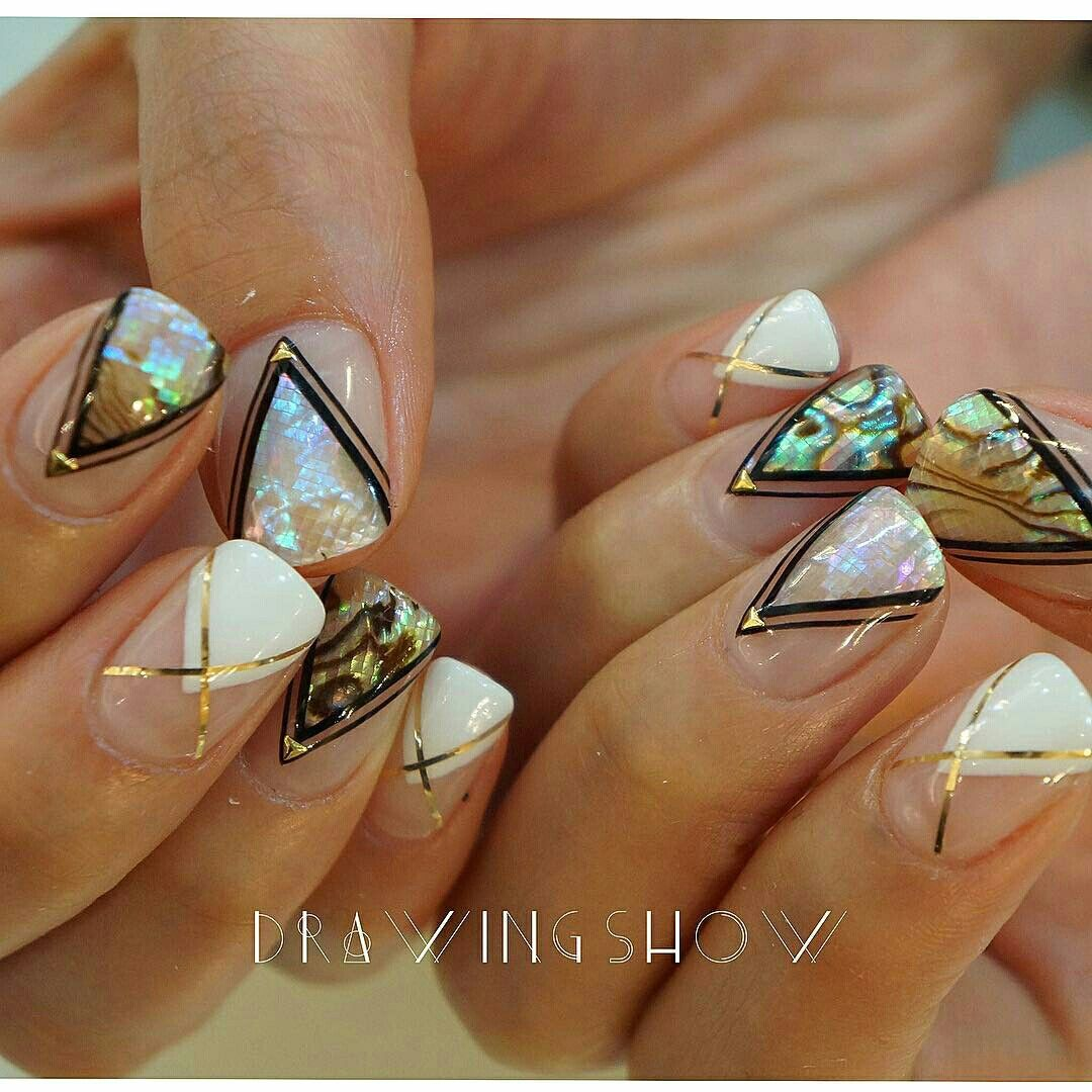 Ideas about japanese nail art on pinterest - Mother Of Opal Opal Hairjapanese Nail Artnail Trendsart Ideasnailed