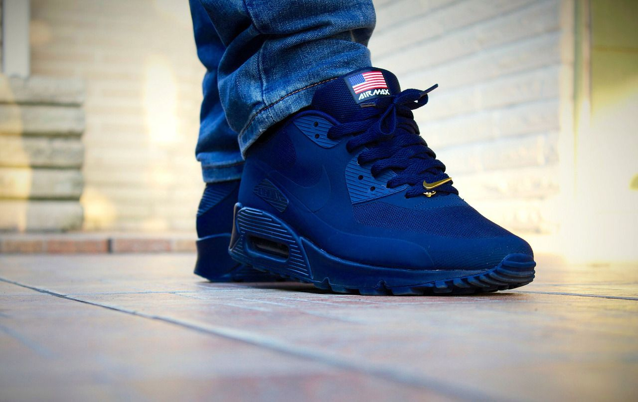 nike air max 90 independence day navy